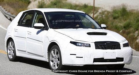 2008 Subaru WRX hatchback