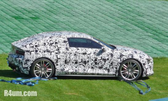 Audi R4 in camo