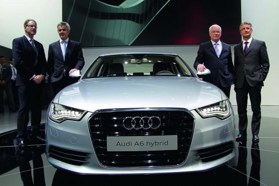 Audis A6 Hybrid