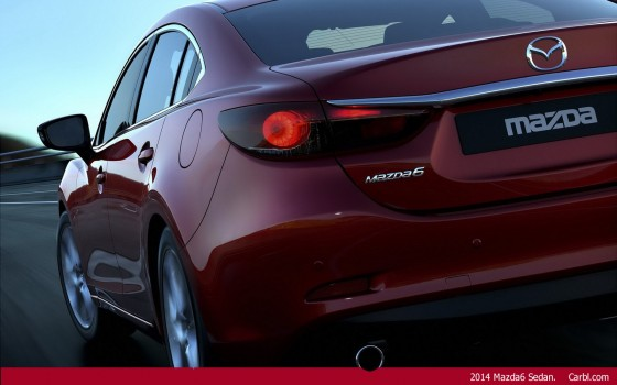 New 2014 Mazda6 Sedan