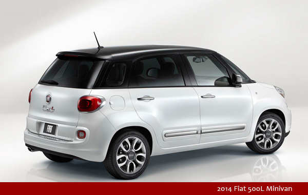 2014 Fiat 500L Minivan