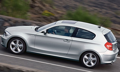 Bmw 120i Coupe. but coupe and convertible
