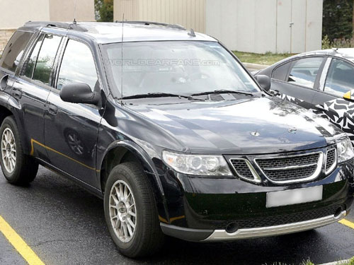 The new 2010 Saab 9-4x was caught without camo on road testing.