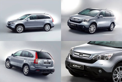 Take a look at the first press-issue images of the 2007 Honda CR-V. Pics