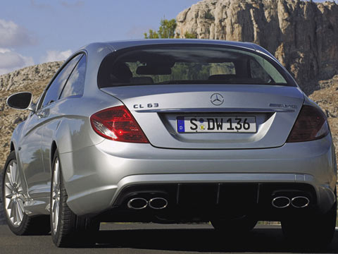cls 63 amg. The Mercedes CL 63 AMG is