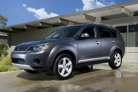 Mitsubishi Motors launched the new Outlander in U.S. The 2007 Outlander