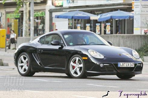 The facelifted Cayman