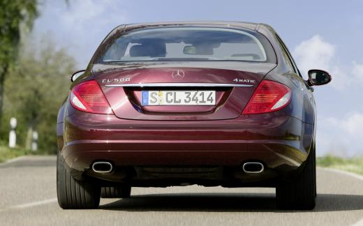 2008 Mercedes-Benz CL500 4MATIC