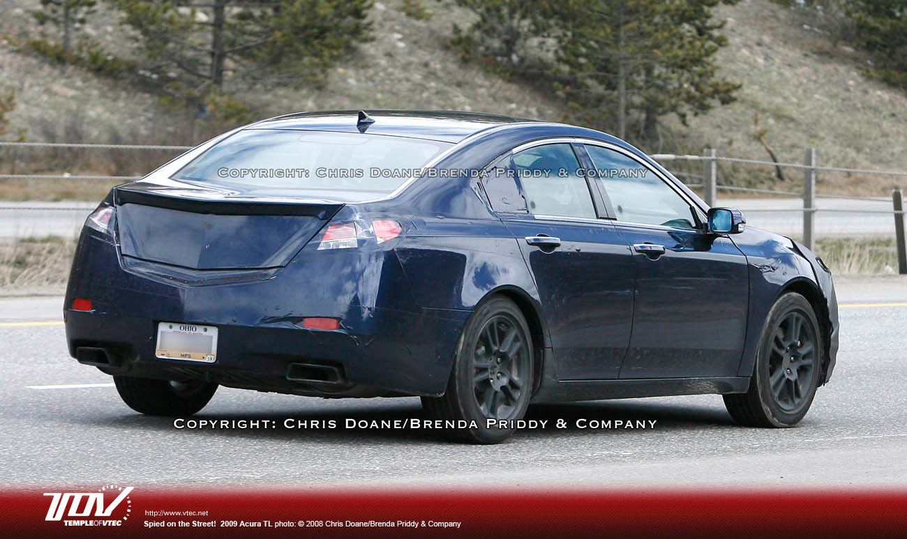 Newsglobal Blog Archive Acura TL Newsglobal - Acura tl taillights