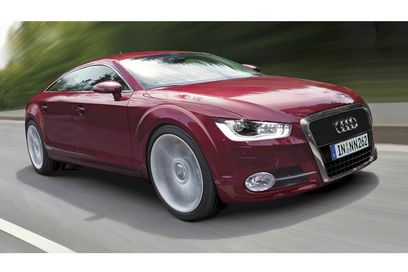 Audi on Look At The Audi   S New Hotcar  The Four Door Coupe A7  It   S Audi