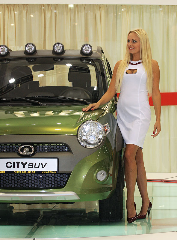 Best Auto Recovery >> Moscow Auto Show and russian girls | CARBLog