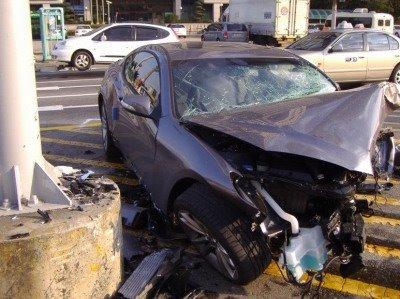 Hyundai Genesis Coupe Crash Carblog