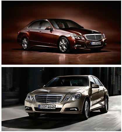 The new 2010 Mercedes E-Class