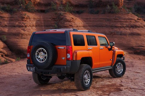 2008 Hummer H3 Alpha. The 2008 Humber H3 Alpha boasts engine improvements
