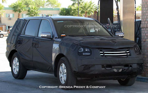 2008 Kia Sorento. Hot snap shots from Brenda Priddy: KIA testing a new