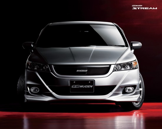 Mugen's aero body kit for 2010 Honda Stream MPV