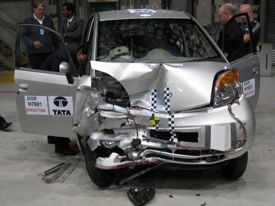 Tata Nano crash test