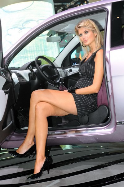 Frankfurt Auto Babes 2009