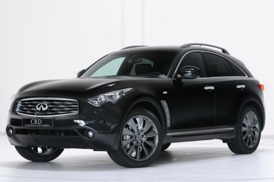 Meet the Infiniti FX50 S Limited Edition dressed up in styling package from
