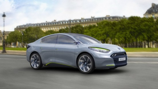According to Renault, the Fluence Z.E. Concept will be released from 2011.