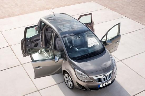 2010 Opel Meriva mini-MPV