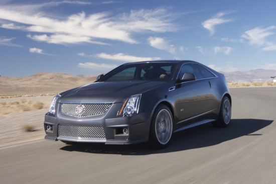 2011 Cadillac CTS-V Coupe with 556HP Supercharged V8