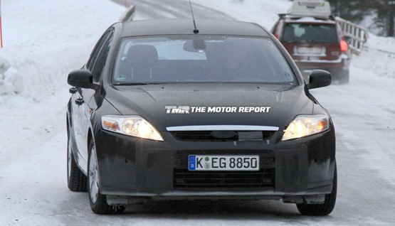 2010 Ford Mondeo Spied