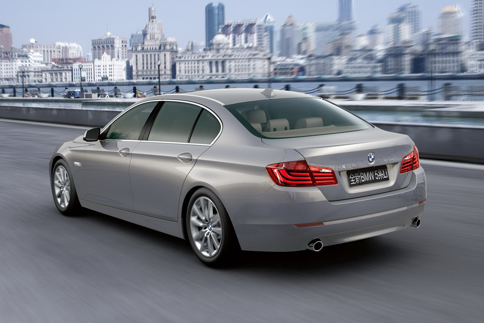 2011 bmw 5 series long wheelbase sedan carblog. Black Bedroom Furniture Sets. Home Design Ideas