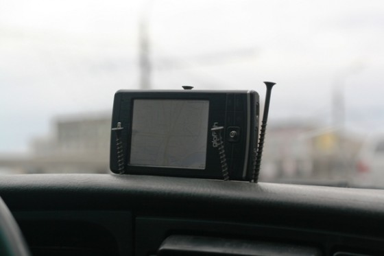 GPS suction cup mount