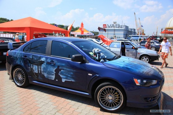 Demoauto Show in Odessa
