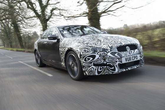 2012 Jaguar XF Facelift
