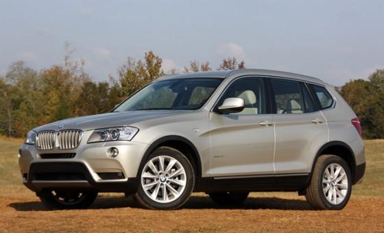 2011 BMW X3 recalled