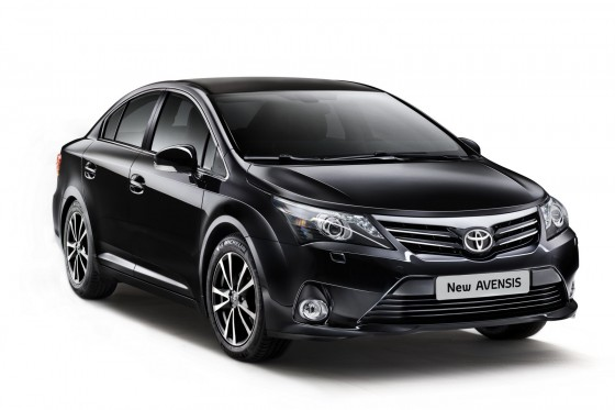 2012 Toyota Avensis Facelift