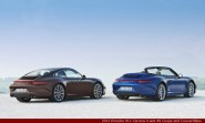 2013 Porsche 911 Carrera 4 and 4S Coupe and Convertibles