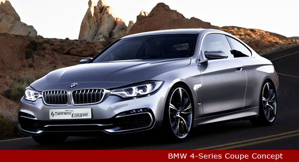BMW's  4-Series Coupe Concept Unveiled