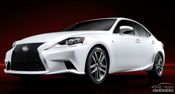 2014 Lexus IS in F Sport Guise