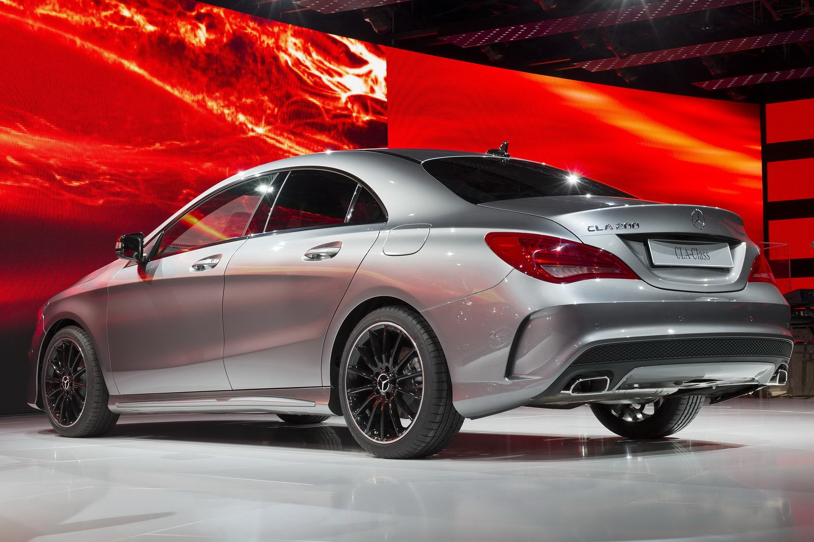 Mercedes-Benz CLA Officially Launched