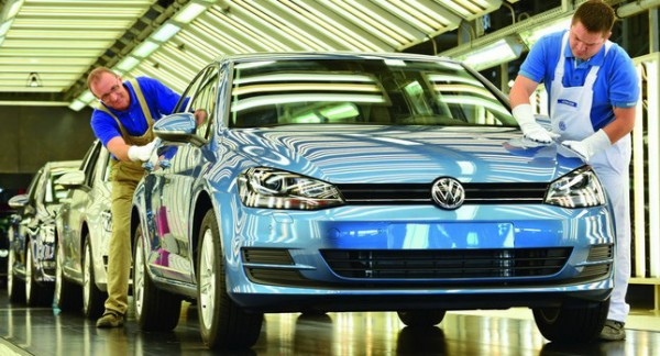 New VW Golf Mk7