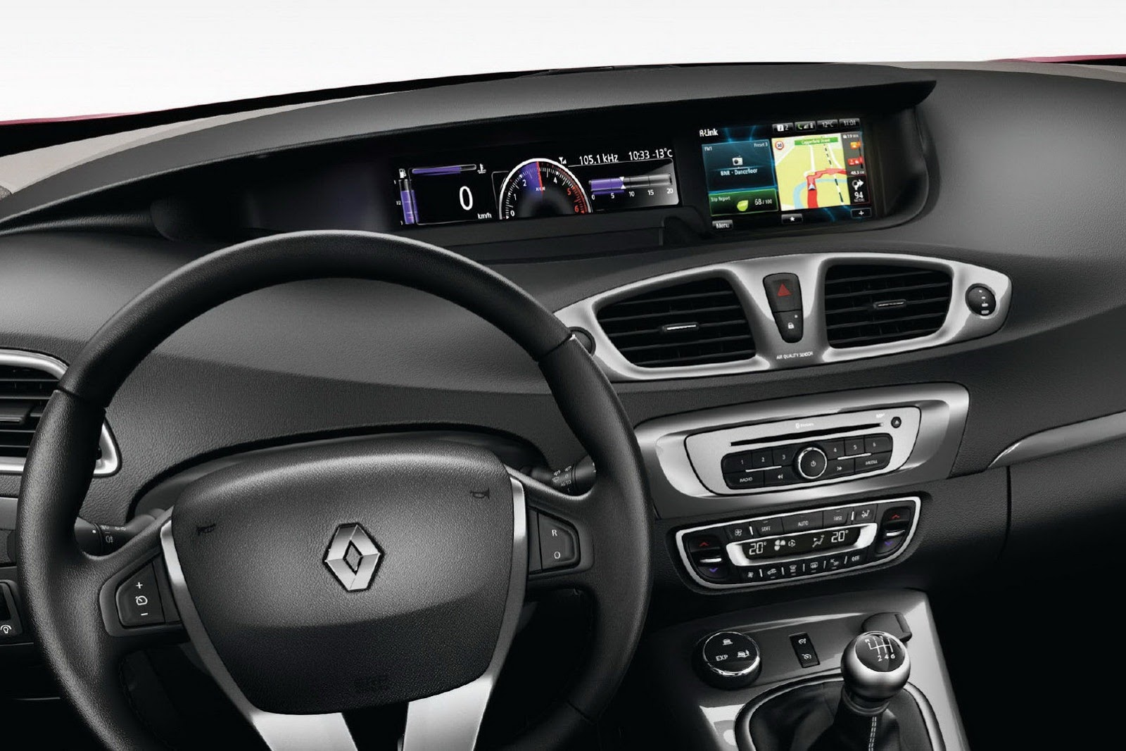 Renault Scenic and Grand Scenic facelifting 2012 Renault Scenic