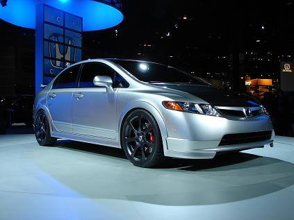 Honda Four-Door Civic Si