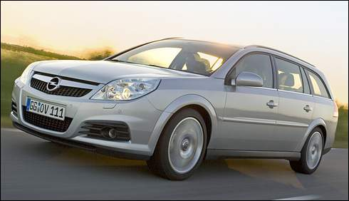 The Opel Vectra C Wagon will be imported and rebadged as a Saturn.