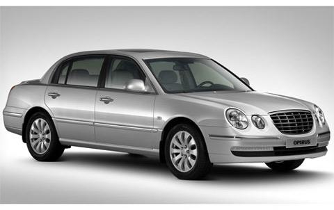 2007 version of the Kia Opirus (Amanti)