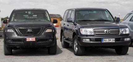Toyota Land Cruiser and the Lexus LX 570