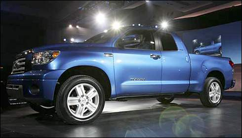 Redesigned Toyota Tundra