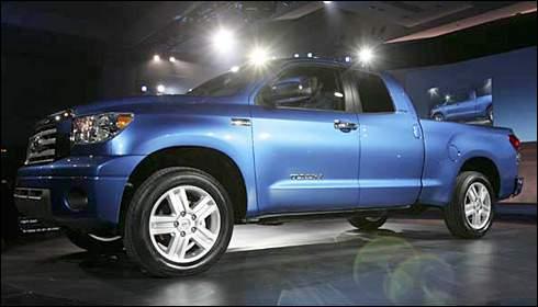 Redesigned Toyota Tundra