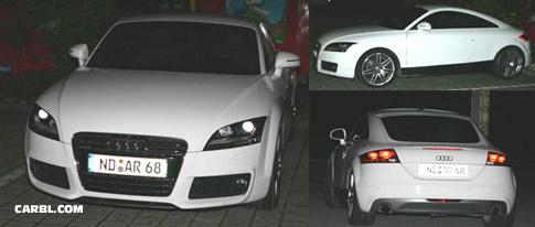 Spy shots: Audi TT RS coupe